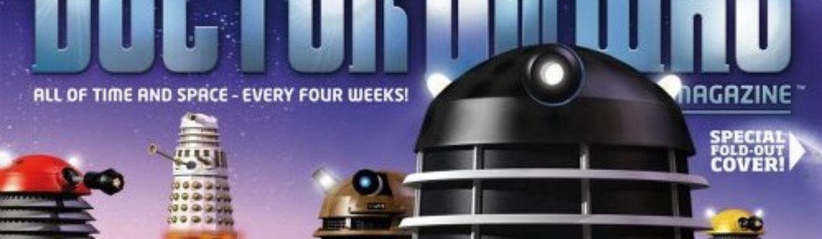 Doctor Who Magazine covers Issue 352