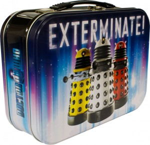 Doctor Who Daleks lunchbox