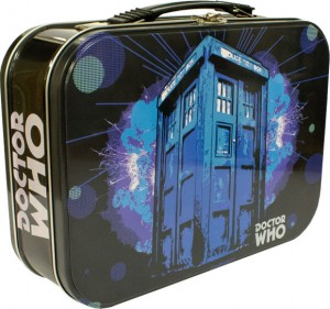 Doctor Who exploding Tardis lunchbox