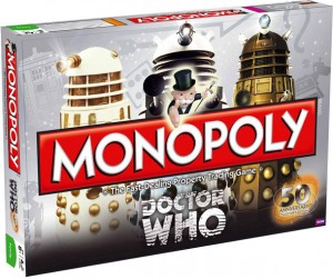 Doctor Who monopoly box