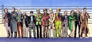 Doctor Who, the usual suspects
