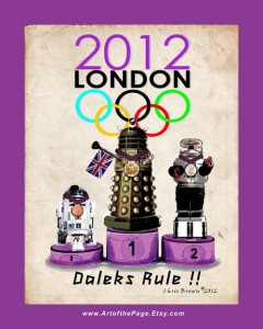 Dalek wins the 2012 Olympic gold in London