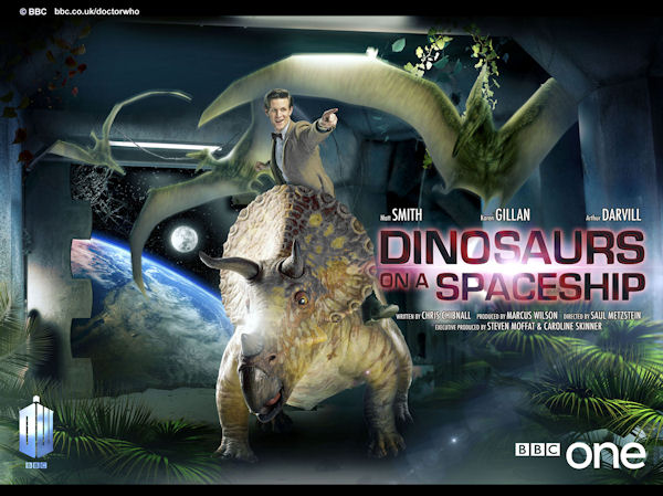 Series 7, episode 2: Dinosaurs on a Spaceship