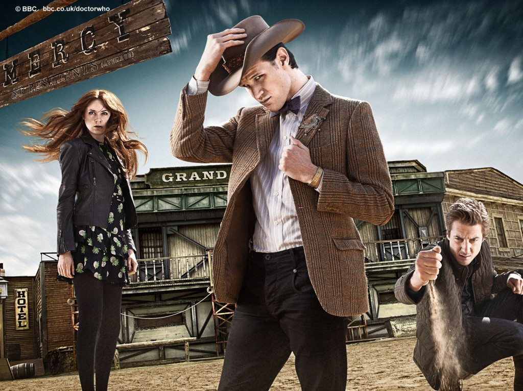 Doctor Who A town called Mercy: the Doctor, Amy and Rory