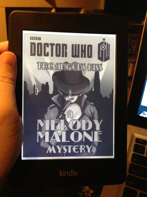 Doctor Who: The Angel's Kiss, a Melody Malone Mystery