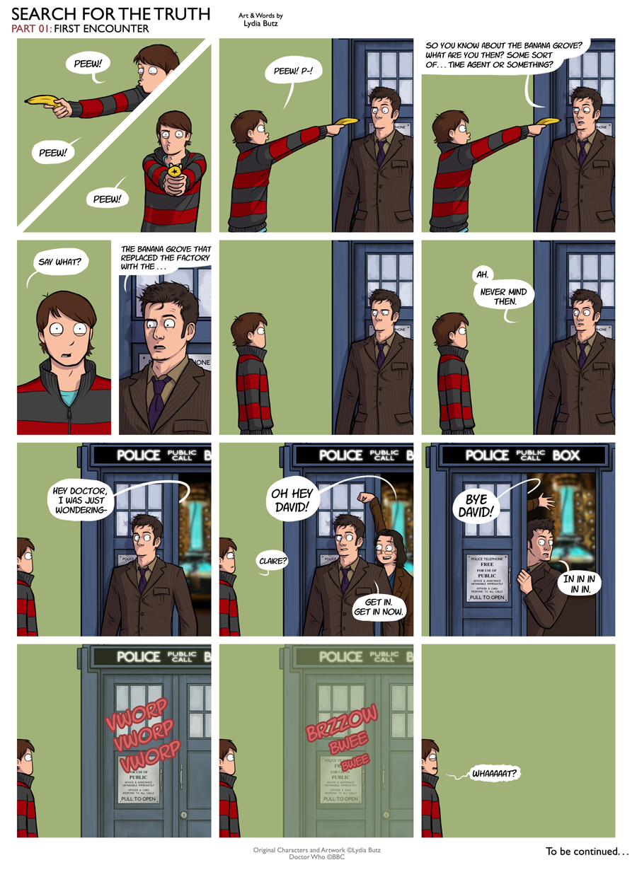 Doctor Who: Search for the truth 01 by girl on the moon