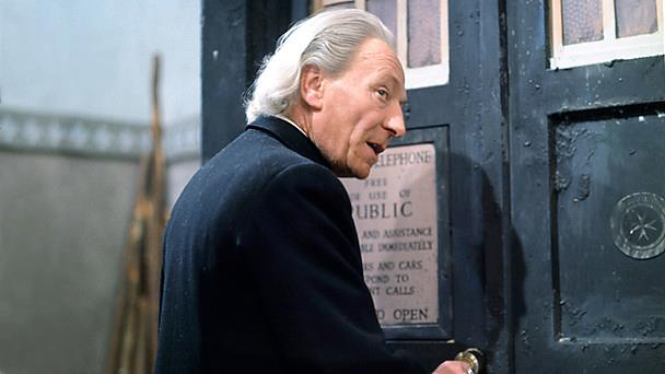 first Doctor Who: William-Hartnell and 49th anniversary of the BBC Show