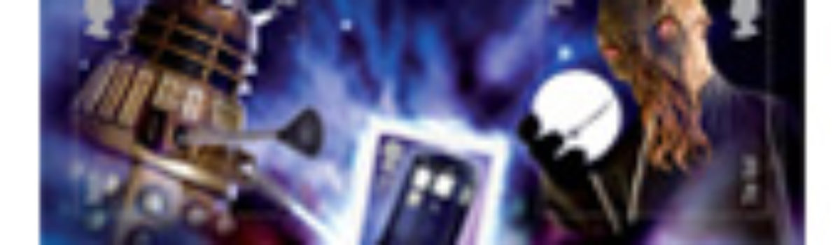 Royal Mail in the UK and the Doctor Who stamps