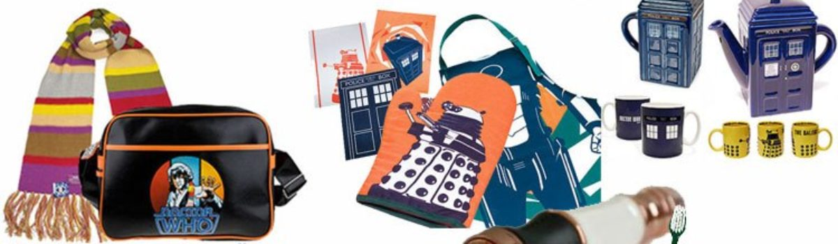 Doctor Who Christmas gifts for everyone