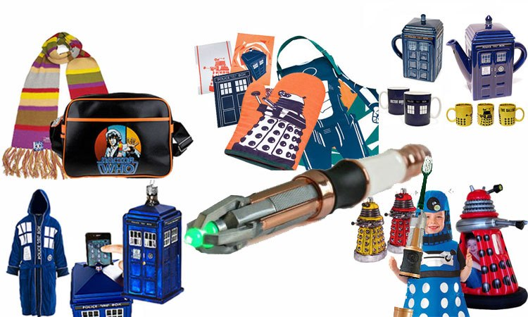 Doctor Who Christmas gifts list