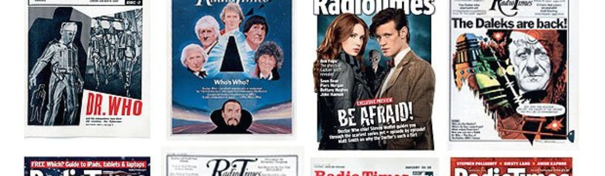 Exclusive Doctor Who postcards, given away for free with Radio Times magazine