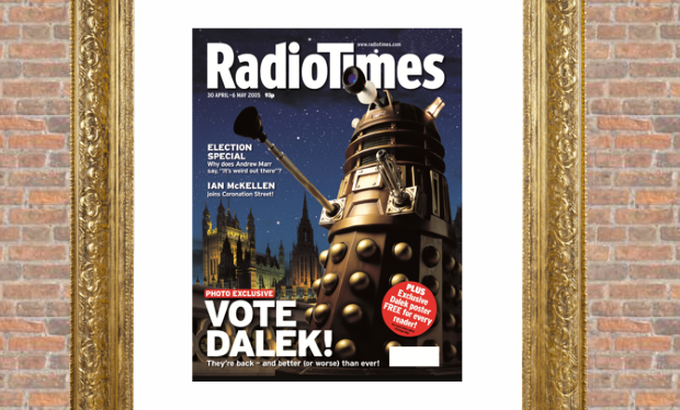 Vote Doctor Who! Vote Dalek!