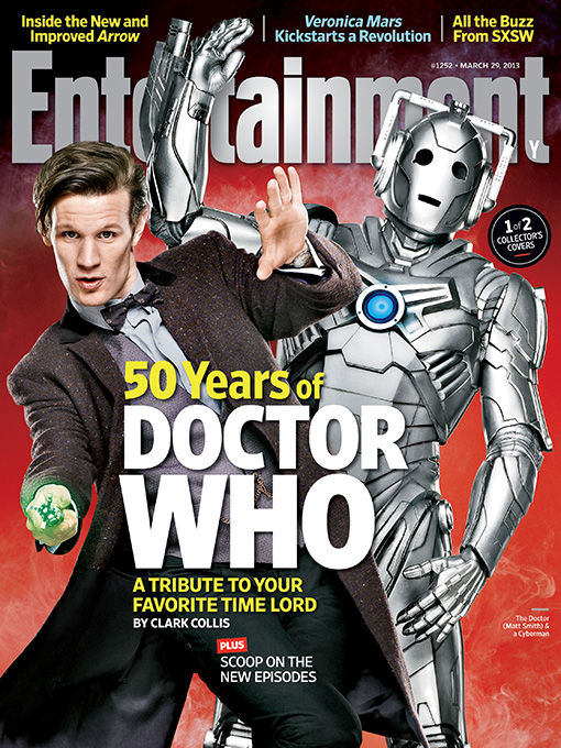 Cover Entertainment Weekly 1252 Doctor Who