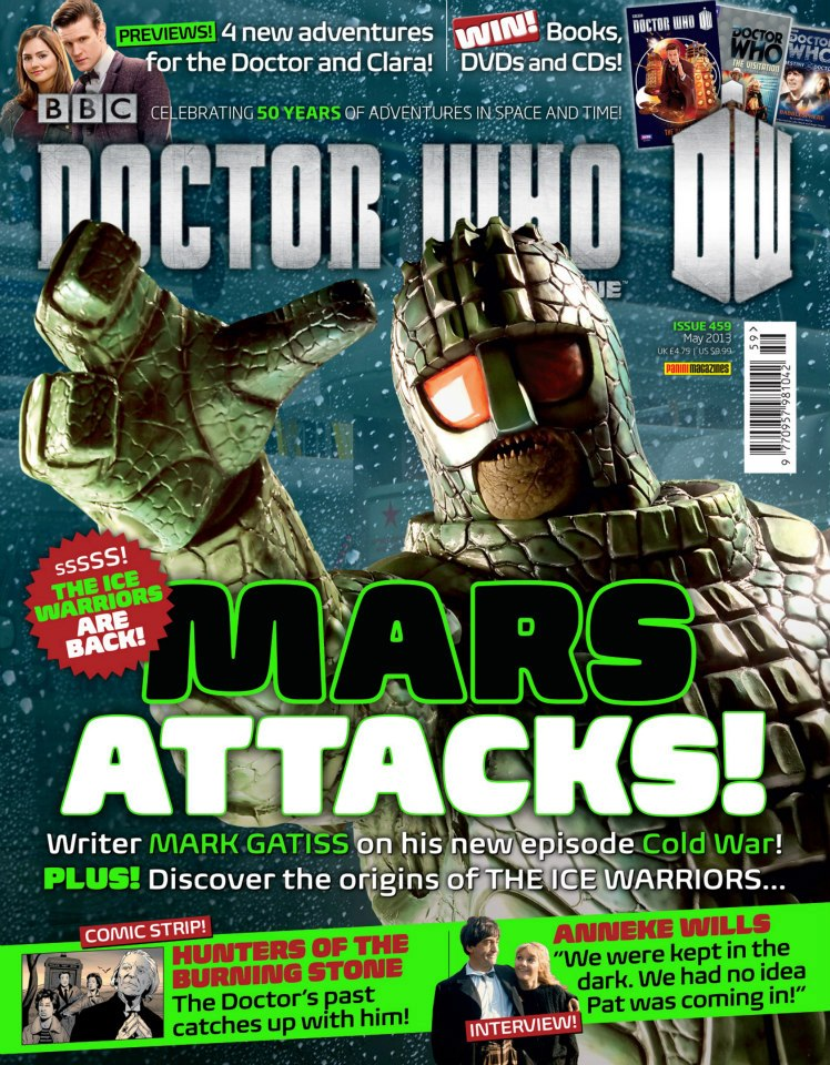 Doctor Who Magazine DWM Issue 459