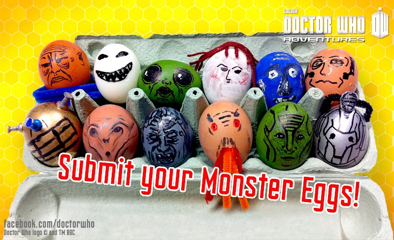 submit your Doctor Who monster eggs