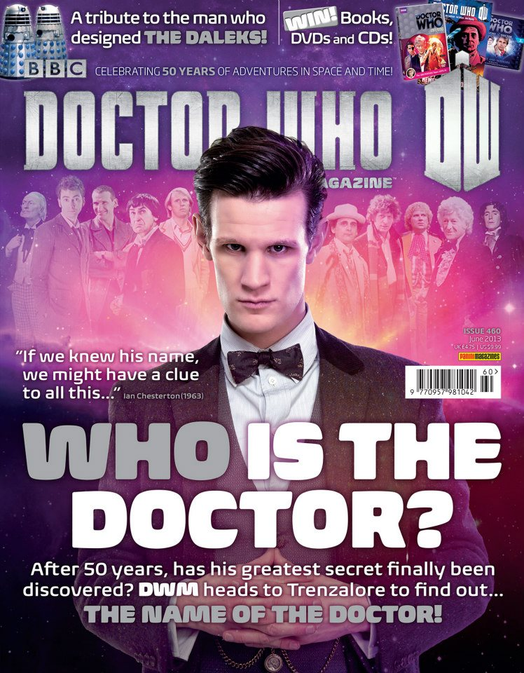 Doctor Who Magazine DWM Issue 460