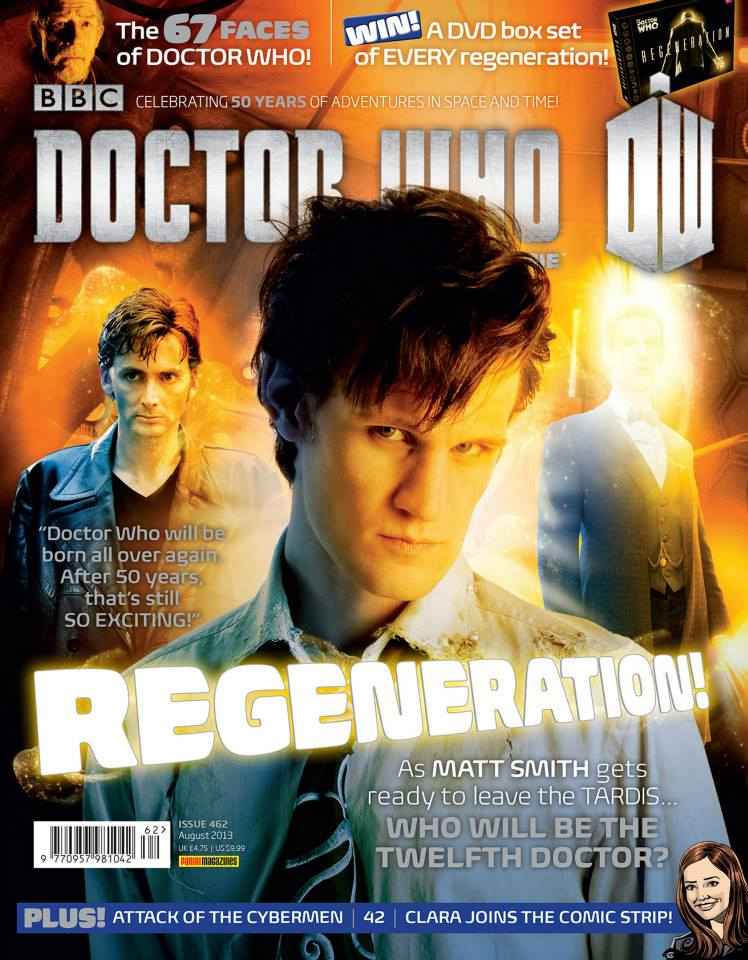 Doctor Who Magazine DWM Issue 462