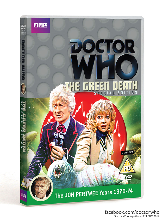 Doctor Who The Green Death special edition Jon Pertwee years 1970 1974