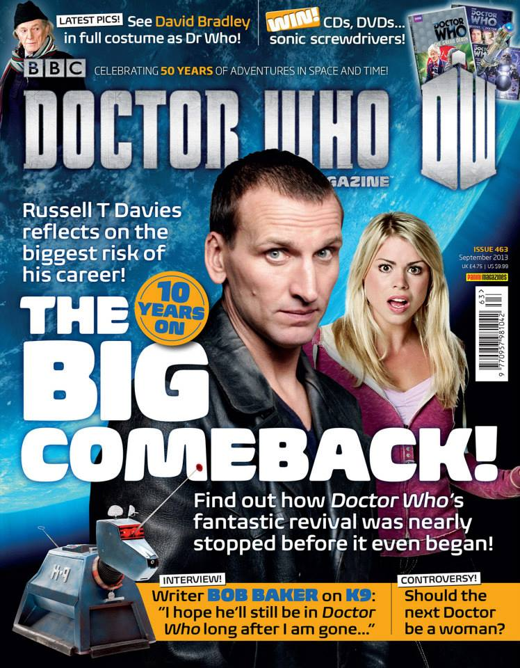 Doctor Who Magazine DWM Issue 463