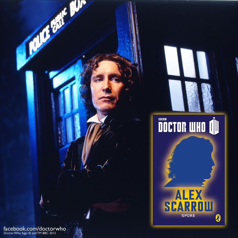 Alex Scarrow author Eighth Doctor short story ebook