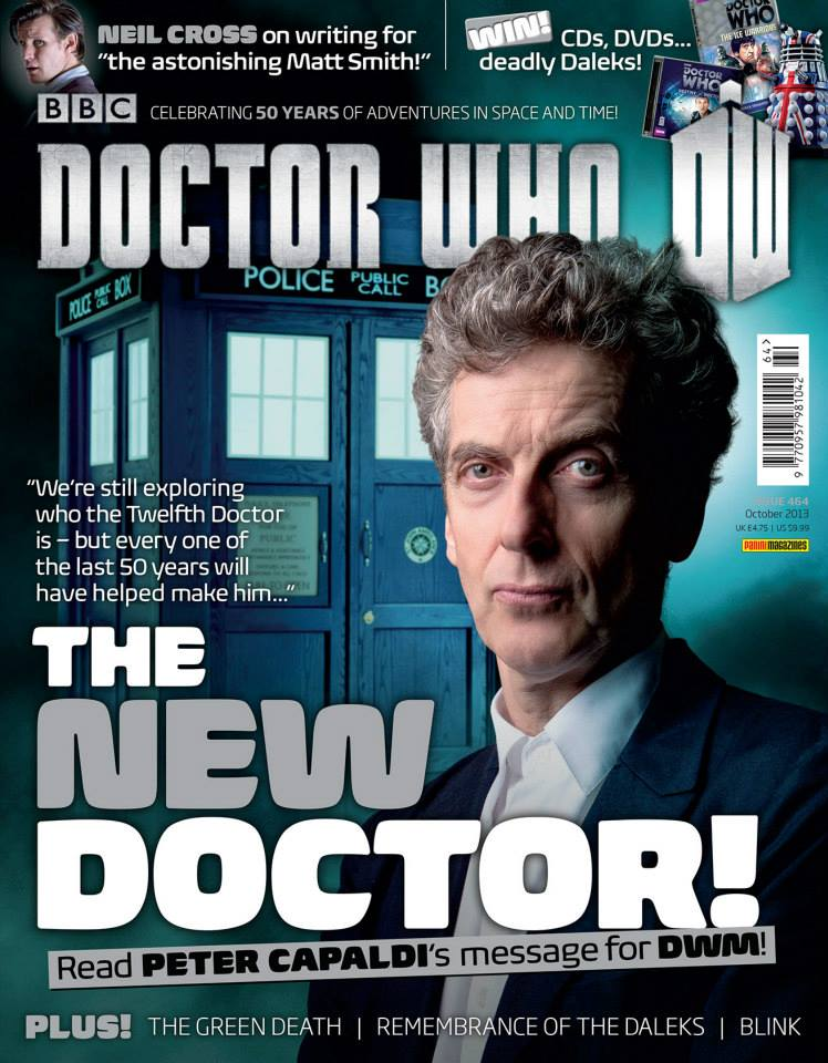 Doctor Who Magazine DWM issue 464