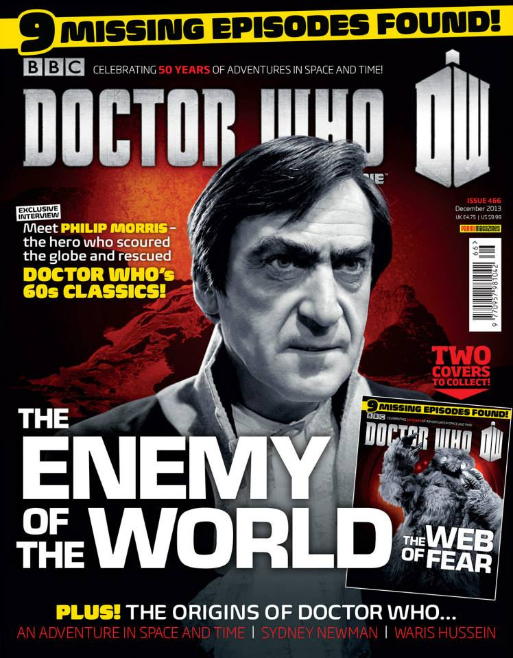 Doctor Who Magazine DWM Issue 466 cover 1 of 2