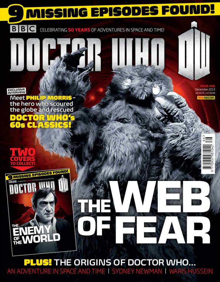 Doctor Who Magazine DWM Issue 466 cover 2 of 2