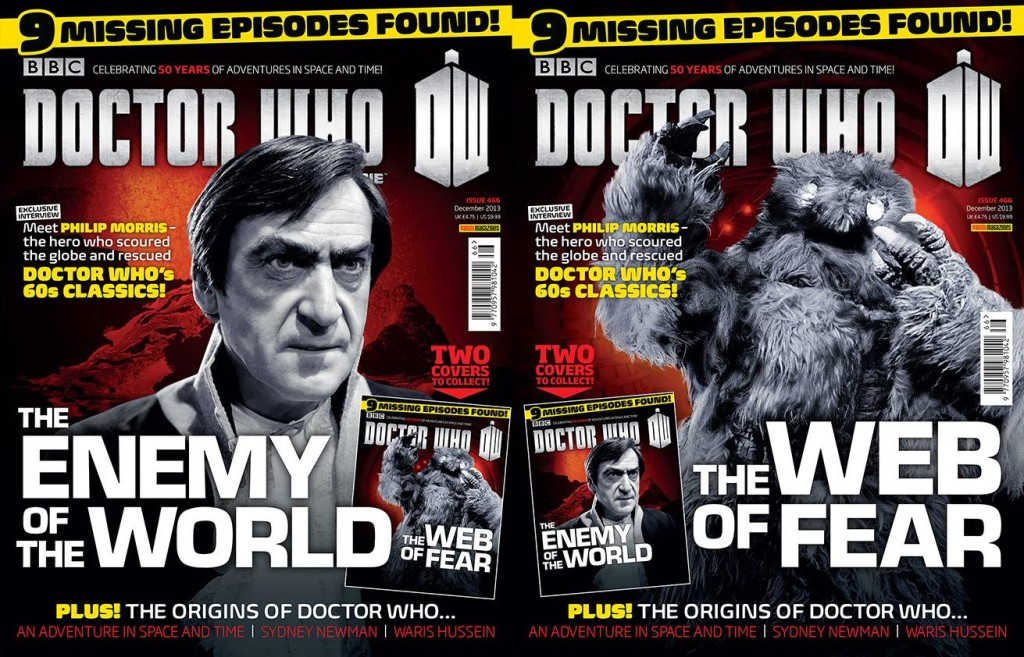 The new issue 466 Doctor Who Magazine DWM