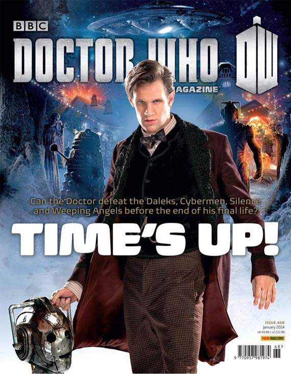 Doctor Who Magazine DWM issue 468 time is up