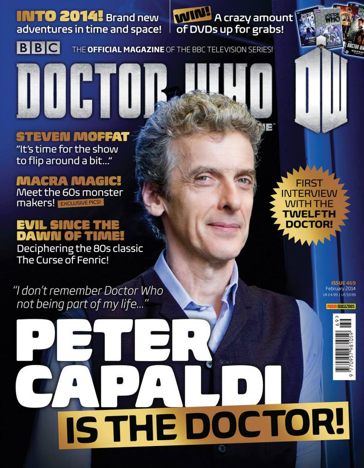 Doctor Who Magazine DWM Issue 469