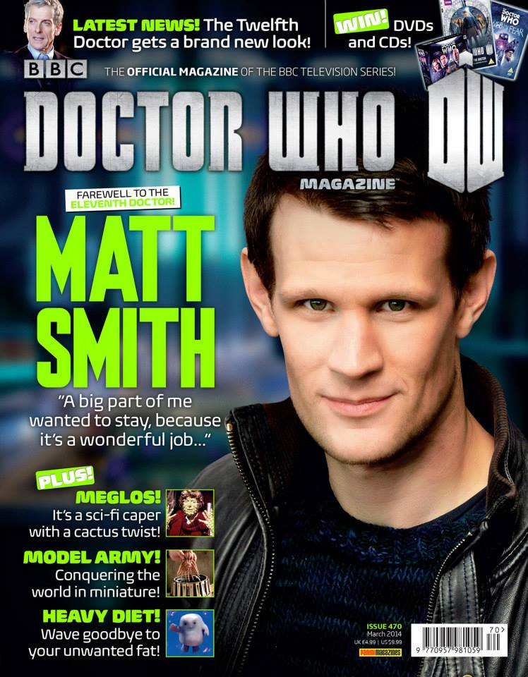 Doctor Who Magazine DWM Issue 470
