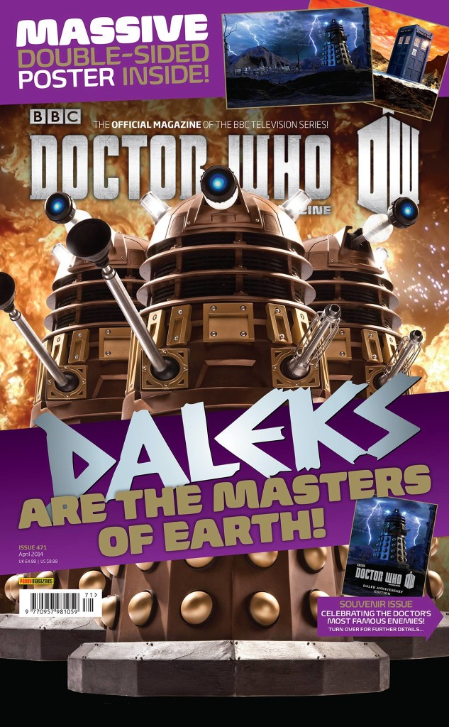 Doctor Who Magazine DWM Issue 471 outer cover