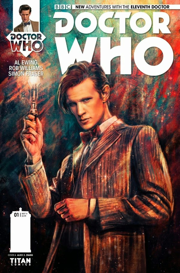 Eleventh Doctor Who cover story in Titan Comics