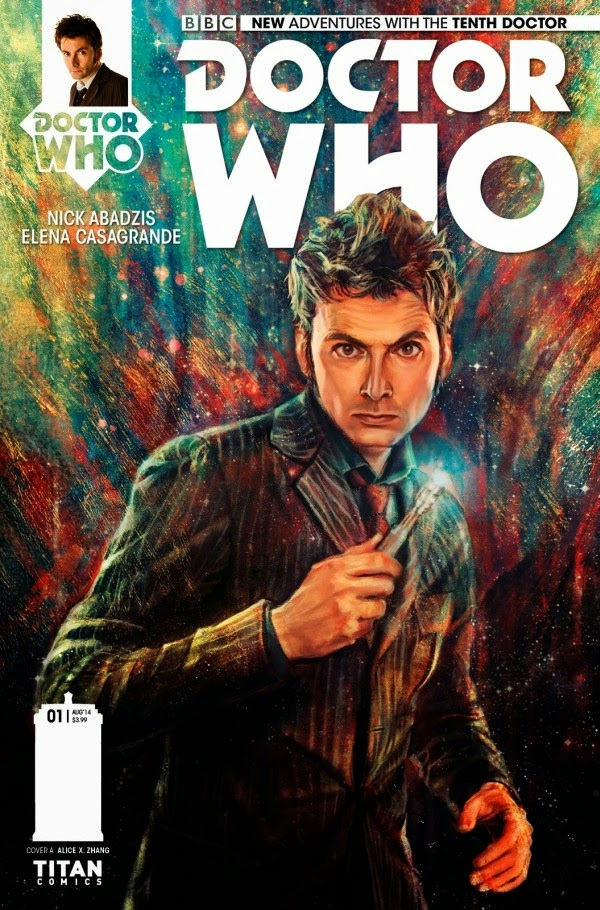 Tenth Doctor Who cover story Titan Comics