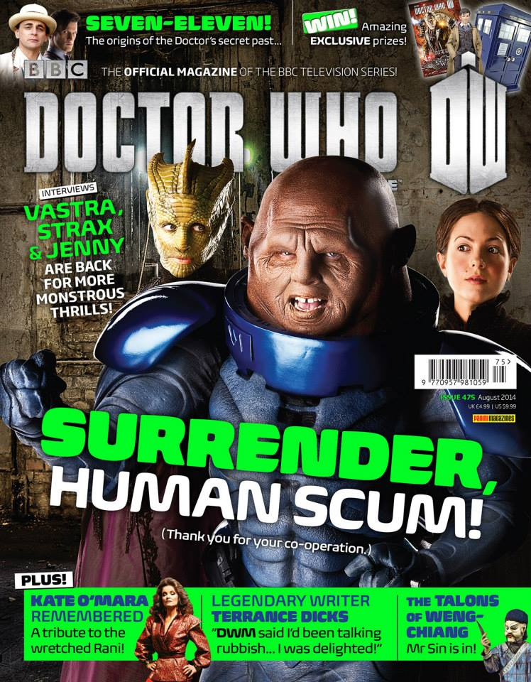 Doctor Who Magazine DWM Issue 475