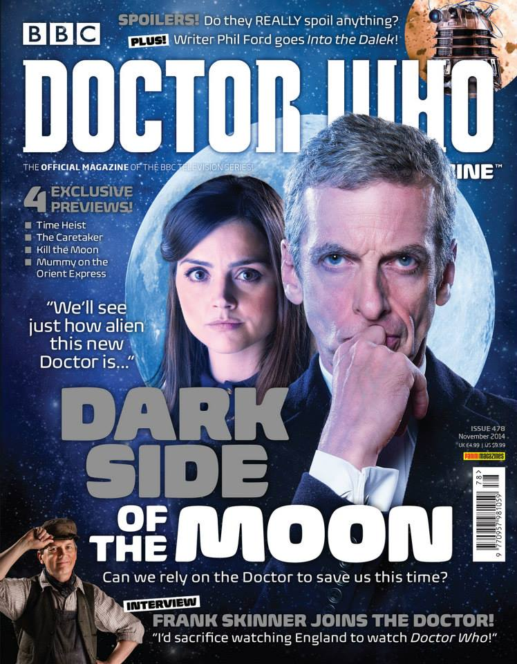 Doctor Who Magazine DWM Issue 478 Dark side of the moon