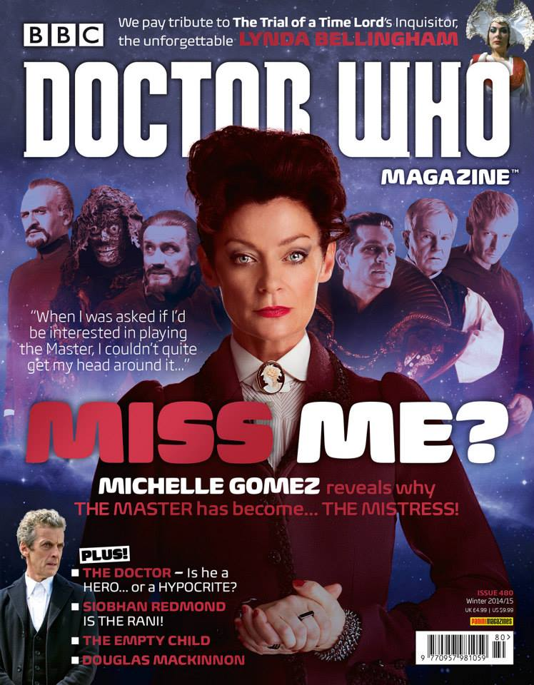 Doctor Who Magazine DWM Issue 480