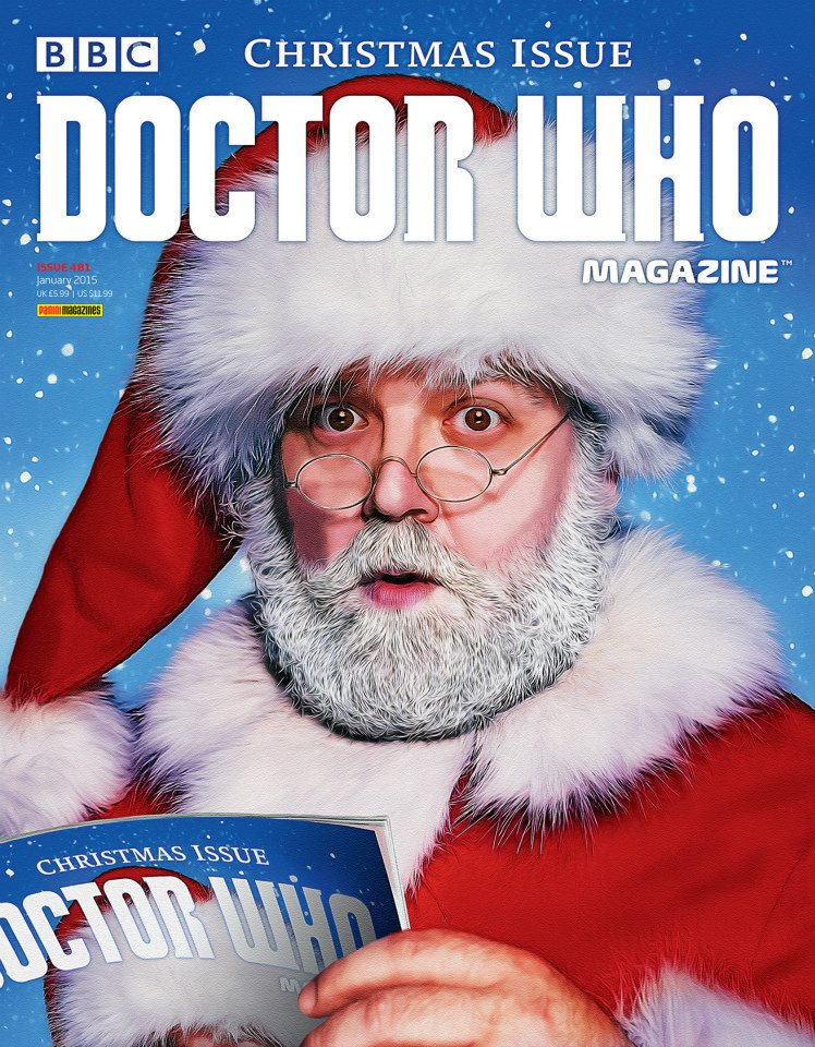 Doctor Who Magazine DWM Issue 481 Christmas