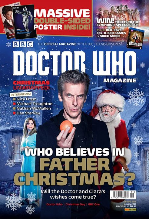 Doctor Who Magazine Issue 481