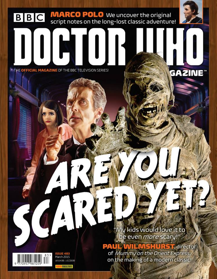 Doctor Who Magazine DWM Issue 483
