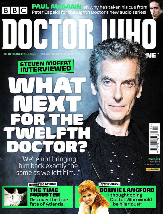 Doctor Who Magazine dwm issue 484