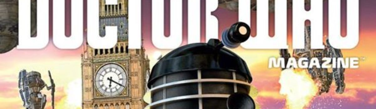Doctor Who Magazine DWM issue 487