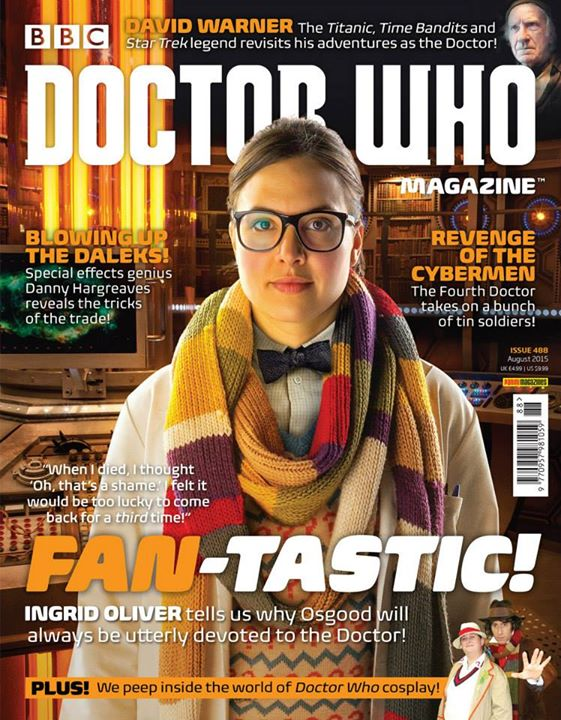 Doctor Who Magazine DWM Issue 488