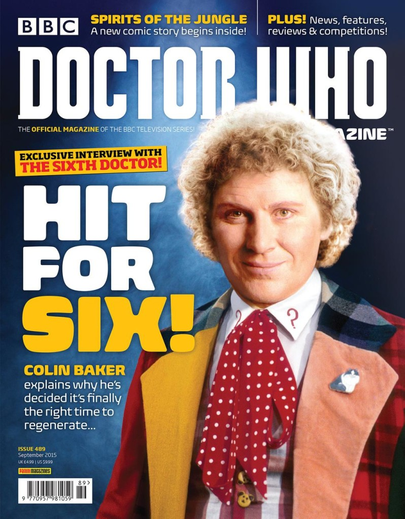 Doctor Who Magazine DWM Issue 489