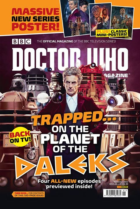 Doctor Who Magazine DWM issue 491