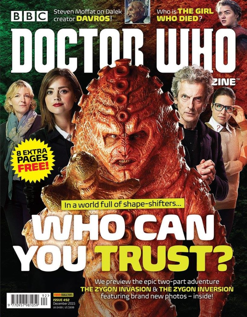 Doctor Who Magazine DWM Issue 492