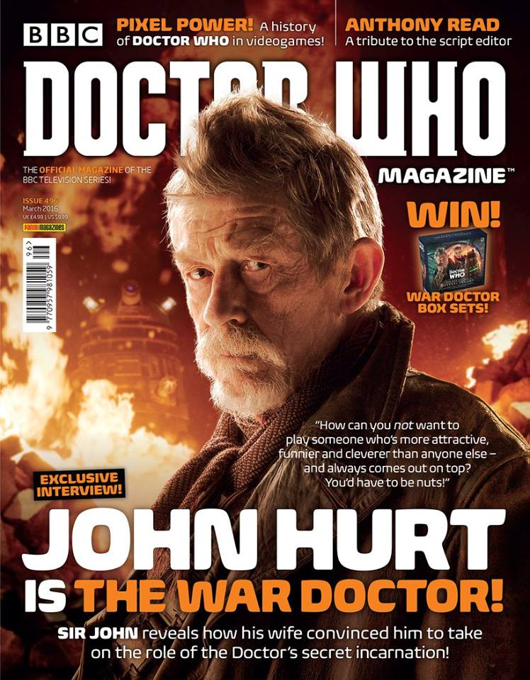 Doctor Who Magazine DWM issue 496