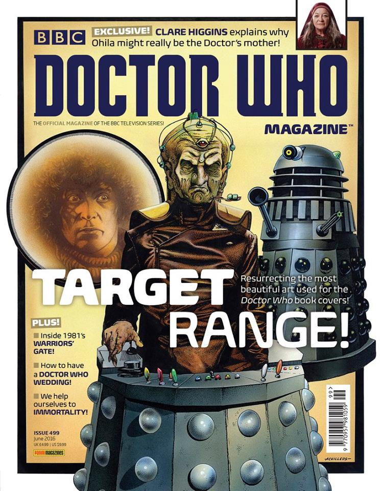 Doctor Who Magazine DWM Issue 499