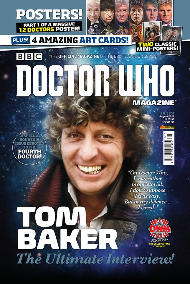 Doctor Who Magazine DWM Issue 501