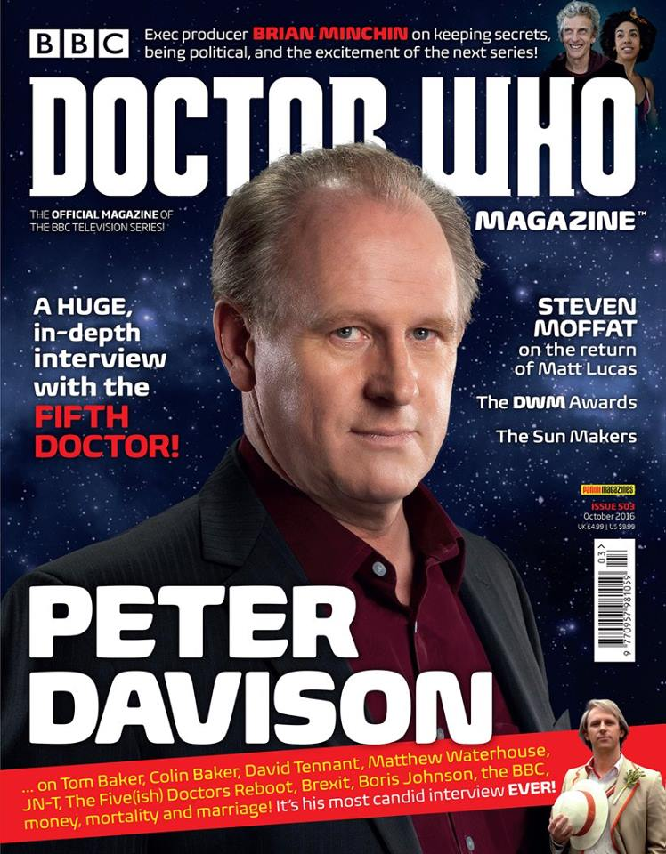 Doctor Who Magazine DWM Issue 503